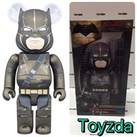 Medicom DC Dawn Justice 400% Superman v Armored Batman Bearbrick Be@rbrick