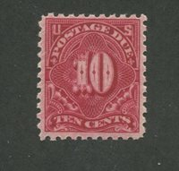 1914 United States Postage Due Stamp #J56 Mint Never Hinged F/VF Original Gum