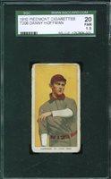 1909-11 T206 DANNY HOFFMAN St. Louis Browns SGC 20 JU18