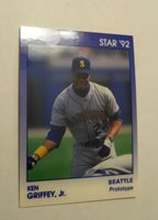 a3a66b2e6e 1992 STAR COMPANY KEN GRIFFEY JR PROTOTYPE CARD - NEAR MINT PSA? ONLY 800  MADE