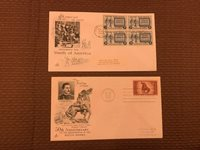1948 First day Covers US postage stamps