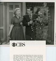 desi arnaz vivian vance i love lucy christmas special original 1990 cbs tv photo - I Love Lucy Christmas Episode