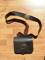 .58 CALIBER U.S. CARTRIDGE BOX & SLING RIG