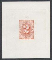 United StatesScott #J2-E1d (2014 Scott Value $700.00), Unused, XF. 2c Numeral (#J2-E1d) in scarlet.Stamp #46016 | Price: $560.00Add To Cart