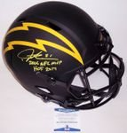 Ladainian Tomlinson - Autographed Full Size Riddell Eclipse Speed Football Helmet - Chargers - PSA/DNA