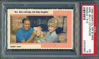 1968 American Oil Mr. and Mrs. Billy Lothridge PSA 5 EX Atlanta Falcons Rare