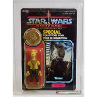 1985 Kenner Canada Star Wars POTF 92 Back Yak Face AFA 85 Y-NM+ #14942348