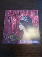 KACEY MUSGRAVES Pageant Material SIGNED Autographed CD - GRAMMY WINNER