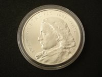 Ivan Mestrovic, 2003, proof silver ounce by Croatian Monetary Institute, medal