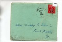 United States - (74) Commercial Cover - 1930 - pmk. Columbia