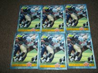 Lot of 6 1993 Classic NFL Draft Jerome Bettis RC's- Rams/Steelers HOF