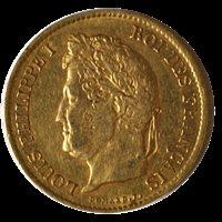 40 Francs Louis-Philippe 1834 A