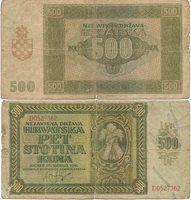 500 Kuna 1941 Croatia