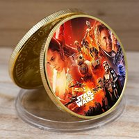 Star War Commemorative Challenge Coin Festival Gift Game Coin Home Decor