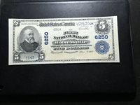 National Bank Note Hooversville Pa