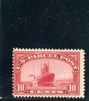 US 1913 10-Cent Parcel Scott# Q6 Mint NH