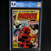 DAREDEVIL #131 (1976)  CGC 9.4  RARE UK PRICE VARIANT - HIGHEST GRADED