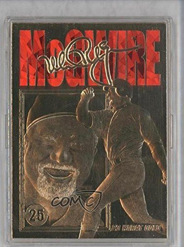 Mark Mcgwire 996262 Baseball Card 1998 Score Board 23 Karat Gold Mamc