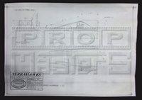 TERRAHAWKS Treehawk Cockpit Blueprint