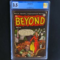 The Beyond #19 (1953)  CGC 3.5  Rare Pre-Code Horror PCH Ace Periodicals