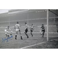 Spurs 50's star Johnny Brooks signed photo