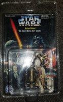 Vintage Star Wars Die Cast Artoo-Detoo Keychain Figure 1996. (14G)