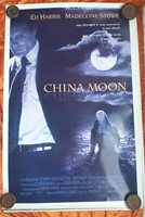 CHINA MOON 1 sheet Movie Poster Australian release Madeline Stowe