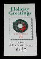 U.S.A. #BK270, 1998, HOLIDAY GREETINGS,SEALED BOOKLET,MNH,NICE! LQQK!
