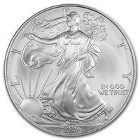 2006 Silver Eagle - Brilliant Uncirculated