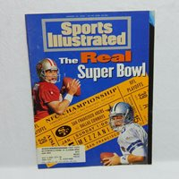 SPORTS ILLUSTRATED JANUARY 16, 1995 COVER THE REAL SUPER BOWL 49ERS/COWBOYS
