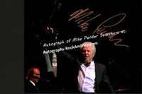 Mike Pender Searchers - autographed promo #2399