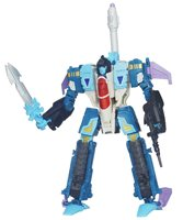 TRANSFORMERS GENERATIONS VOYAGER CLASS DECEPTICON DOUBLEDEAL 3-N-1 ACTION FIGURE