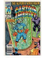 Captain America #391, Early Sept 1991, fine-very fine: Marvel; boarded & bagged