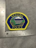 Redding CA Police patch - California sheriff