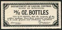 SRS MO EB7 1938 24 12 oz. black, Winn-McMahon mint, VF