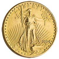$20 Saint Gaudens Double Eagle Gold Coin Jewelry Grade (Random Year)