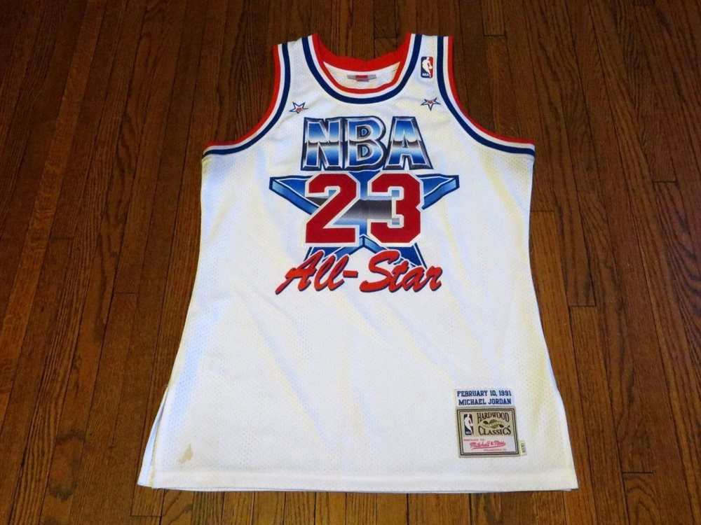 new product 58418 74d95 Mitchell   Ness NBA All-Star Michael Jordan 1991 Jersey