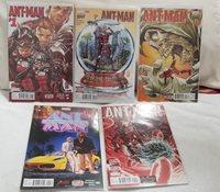 (5) Marvel Comics Ant-Man #'s 1-5 1st Prints (VF or Better)