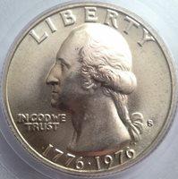 1976-S Washington Silver Quarter Dollar - Gen 4.0 PCGS MS 67 - Beautiful PQ Gem!