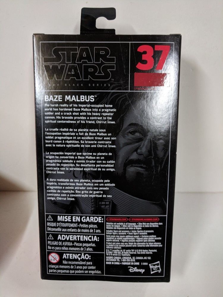"STAR WARS BLACK SERIES RED LINE #35 2016 6/"" FIGURE SNOWTROOPER BRAND NEW IN BOX"