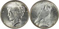 1927 Peace $1 ANACS MS63