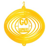 SWEN Products MINNESOTA MN GO GOPHERS Swirly Metal Wind Spinner