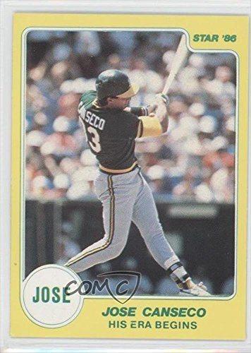 Jose Canseco Baseball Card 1986 Star Jose Canseco Non