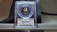 2001-S Washington State (RI) Quarter PCGS PR69DCAM (01SWQG043) White Label