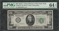 *STAR NOTE* 1934A $20 New York FRN - PMG Choice Uncirculated CU 64EPQ - C2C