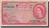 1 Dollar British Caribbean Territories Banknote, 1964-01-02, Km:7c