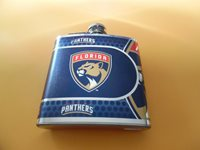 Florida Panthers 6 oz Stainless Steel Flash