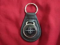 1960's 1970's LINCOLN CONTINENTAL MARK TOWN CAR LOGO KEYCHAIN NEW BLACK
