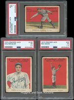 1915 Cracker Jack Ball Players Group of (11) PSA Poor 1 to Fair 1.5 Graded Cards