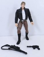 Hasbro Star Wars POTF Han Solo Bespin Gear Action Figure Loose